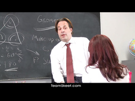 Easy way to get a good grade from perverted teacher