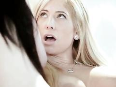 Amazingly sexy lesbian girlfriends are having wild lesbian orgy