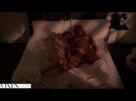 Horny girlfriends Riley Reid and Carter Cruise masturbate before having ffm threesome