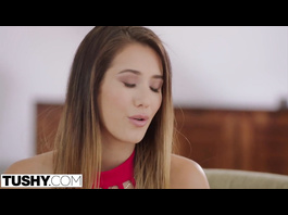 Hot Eva Lovia did not expect to be double penetrated by her boyfriend and his friend